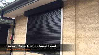 Firesafe Roller Shutters Tweed Coast