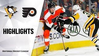 NHL Highlights | Penguins @ Flyers 1/21/20
