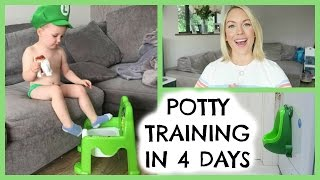 POTTY TRAINING TIPS |  POTTY TRAINING IN 4 DAYS