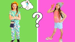 GUESS MY CLOTHES Twin Telepathy Outfit Challenge w/The Norris Nuts