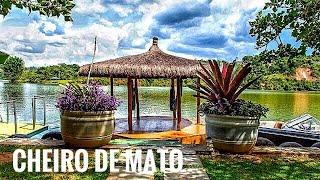 FPV -Drone Filma Eco Resort Refúgio Cheiro de Mato em Plena Serra da Cantareira, Mairiporã