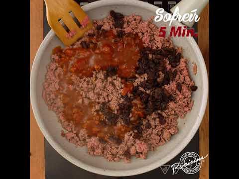 Thumbnail del video receta de Picadillo