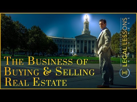 Real Estate Law of Contracts - Buying and Selling Real Estate