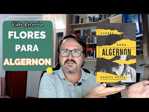 Vídeo resenha do livro  Flores para Algernon