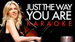 Just the Way You are (KARAOKE) Diana Krall piano