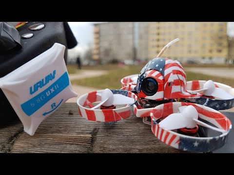 Eachine US65 - Outdoor run & URUAV UXII test - Eachine US65 UK65 65mm Brushless Whoop - tiny whoop - BANGGOOD