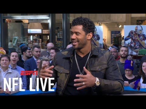 Russell Wilson: 'I've been fortunate enough to hold up the trophy' | NFL Live | ESPN