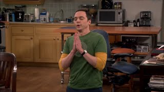 The Big Bang Theory - Sheldon praying to God
