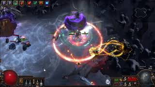 PoE 3 3 - Deathless Uber Elder with Solar Guard Spectres - Самые