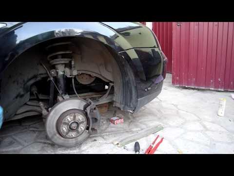 Фото к видео: Замена натяжителя и ремня генератора ФОрд Мондео 3 (Ford Mondeo 3)