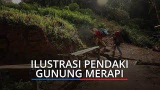 Pendaki Asal Padang Terjatuh di Cadas Gunung Marapi, Tim SAR Segera Evakuasi
