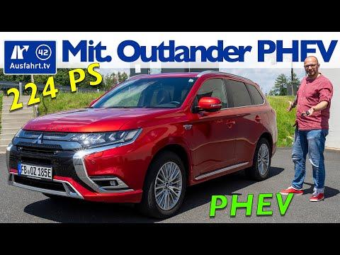 2020 Mitsubishi Outlander PHEV TOP 4WD - Kaufberatung, Test deutsch, Review, Fahrbericht Ausfahrt.tv