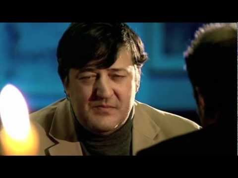 Stephen Fry's very English reaction to Derren Brown's card trick