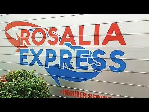 Truk box rosalia express pool bandar lampung Way halim