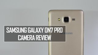Samsung Galaxy On7 Pro Camera Review