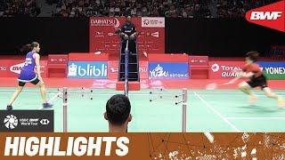 DAIHATSU Indonesia Masters 2020 | Semifinals WS Highlights | BWF 2020