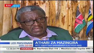 Athari ya kukatwa kwa miti katika bararaba ya Mombasa