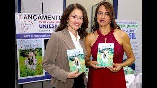 Lançamento UNIESP Caieiras, escritora Marcia Oliveira, lança seu livro O SUAVE PERFUME DAS FLORES