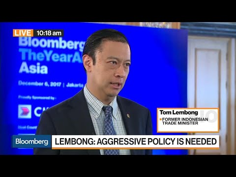 BKPM's Lembong On Indonesia's GDP, Infrastructure, Jokowi