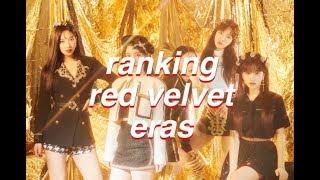 ranking red velvet eras