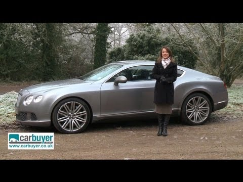 Bentley Continental GT review - CarBuyer