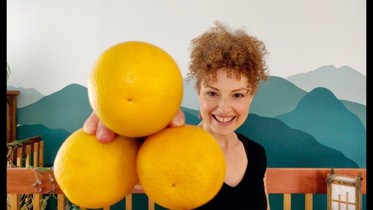 Orange juggling