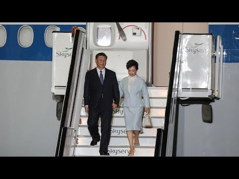 Στην Αθήνα ο πρόεδρος της Κίνας, Σι Τζινπίνγκ