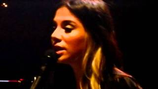 Christina Perri - My Eyes live HMV Institute Birmingham 20-01-12