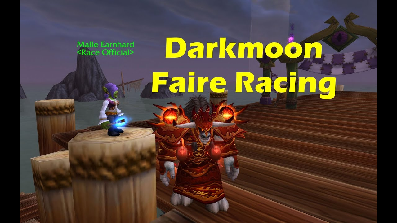 World Of Warcraft's Next Patch Adds Racing Mini-Game