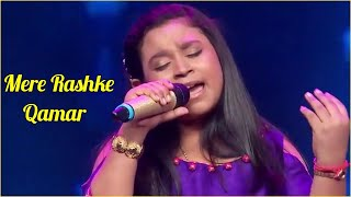 Mere Rashke Qamar Cover By Sonaakshi Kar | HD   - YouTube