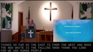 Worship in Church – 1/31/2021