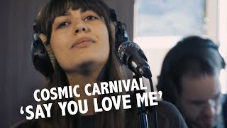 Cosmic Carnival - 'Say You Love Me' (Fleetwood Mac cover) live @ Ekdom in de Ochtend