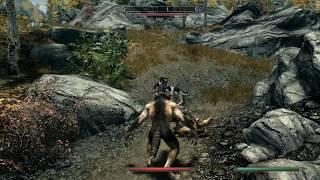 Skyrim - Inigo Reacts to Werewolf Again