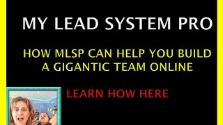 My Lead System Pro Members: Do Working Moms Build a Big Team?