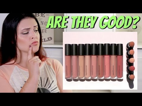 Something to Talk Apout 4-Piece Mini Moxie Plumping Lipgloss Collection by bareMinerals #5
