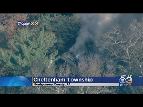 Fire Rips Through House In Montgomery County