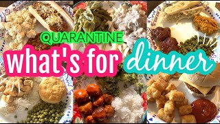 A WEEK OF QUARANTINE BUDGETED DINNERS (+ DESSERTS!) || SIMPLE + REAL MEAL IDEAS