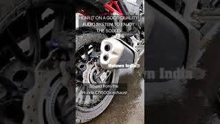 Exhaust note of #hondacb500x #shorts #honda2wheelers #honda #cb500xadventure #cb500xmotorcycle