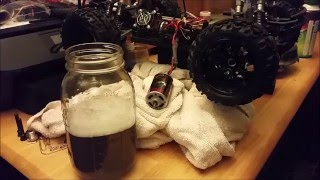 Water Break-In Process for a Brushed Redcat (or any brushed) Motor