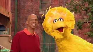 Sesame Street: Kareem Abdul Jabbar and Big Bird - Subtraction