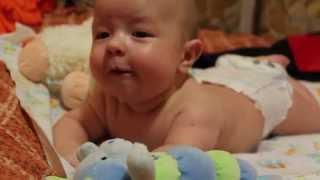 Малыш Марк поет в 3 месяца!! Baby Mark sings in 3 months!!