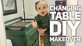 DIY Makeover: Changing Table