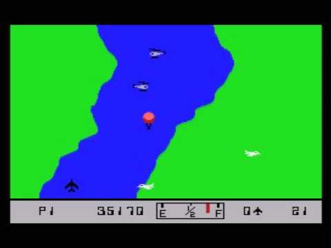 River Raid MSX Game