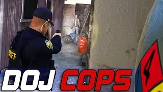 Dept. of Justice Cops #624 - One Way Out