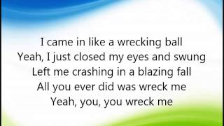 Cimorelli - Wrecking ball LYRICS