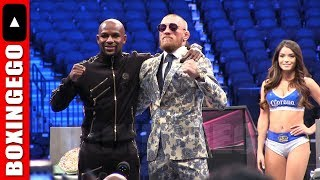 FLOYD MAYWEATHER AND CONOR MCGREGOR  EMBRACE SHOW SPORTSMANSHIP AFTER EXCITING FIGHT #50