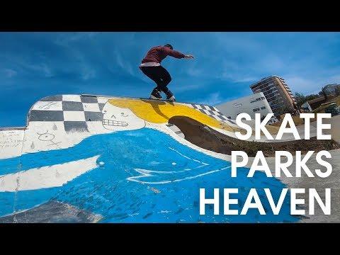 Lisbon is the Skatepark paradise