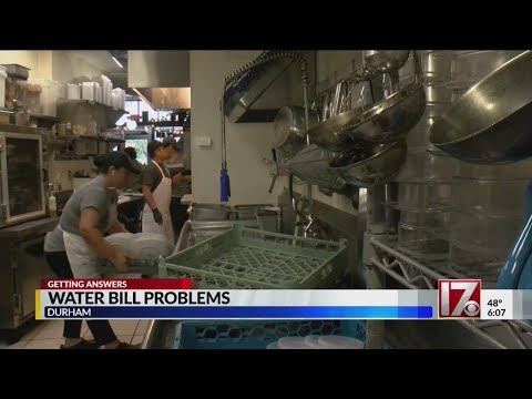 Durham restaurant loses business after city mistakenly turns off water