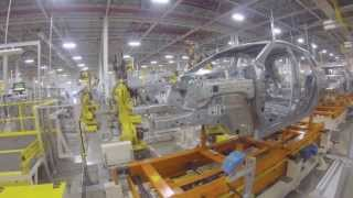 preview picture of video 'Toledo North Jeep plant, July 2013'