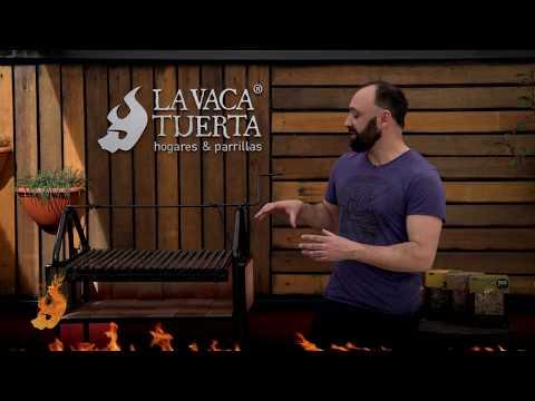 Review de parrilla rodante AG 4 Ruedas Chica Hierro Angulo